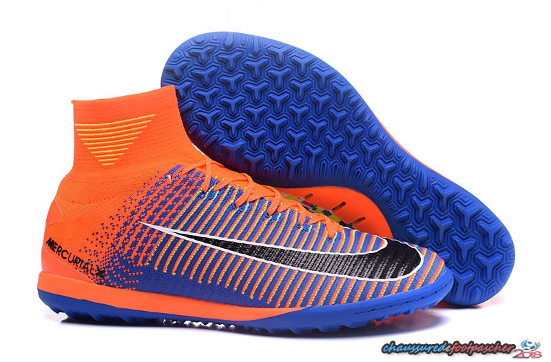 Nike MagistaX Proximo II TF Orange Bleu Noir