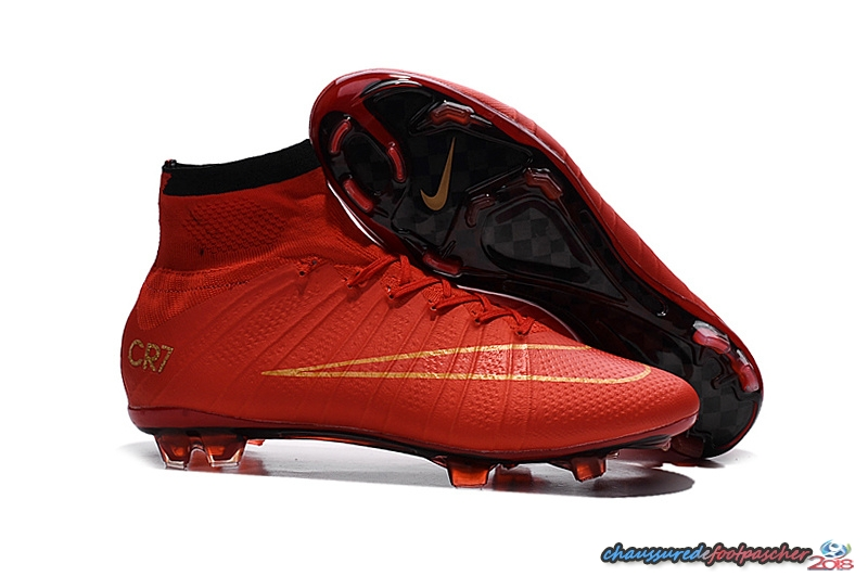 Nike Mercurial Superfly CR7 FG cramoisi