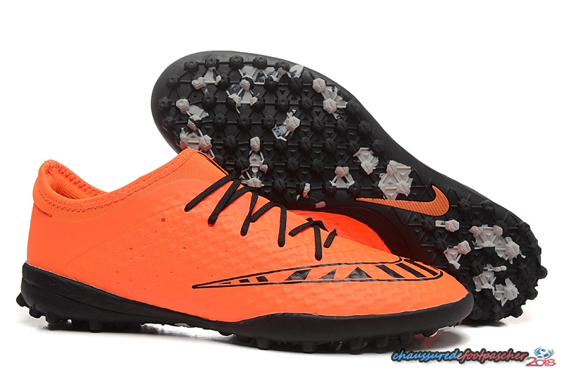 Nike MercurialX Finale TF Orange Noir