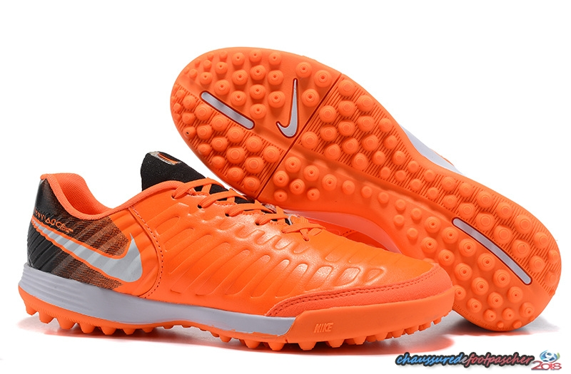 NIke Tiempo Mystic VII TF Orange Noir