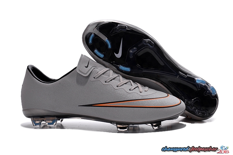 Nike Mercurial Veloce CR7 FG Gris Rouge